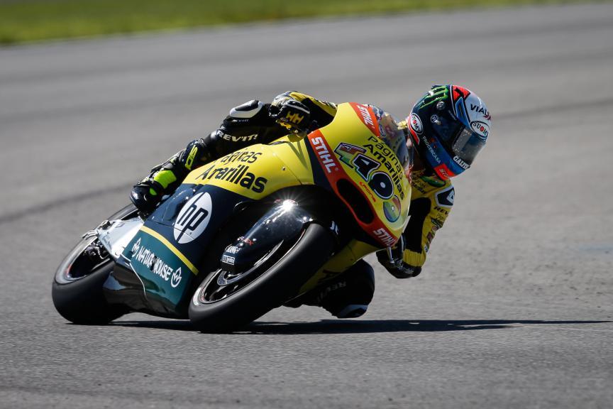 Alex Rins, Paginas Amarillas Hp 40, Indy FP3
