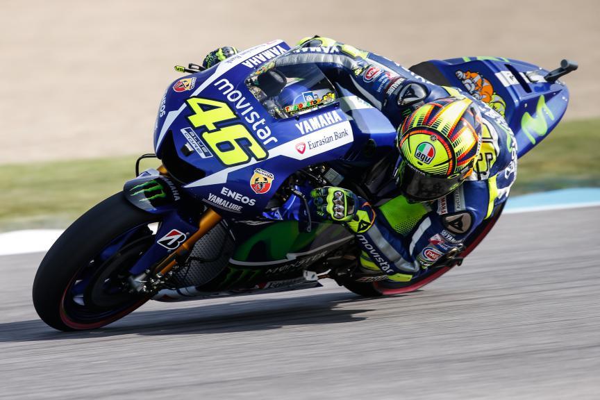 Valentino Rossi, Movistar Yamaha MotoGP, Indy Q2