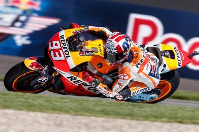 Márquez vuelve a estar primero tras la FP3 de MotoGP™