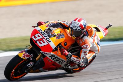 Márquez prend la pole position à Indianapolis