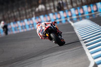 Márquez, Lorenzo y Pedrosa en cabeza de la FP4 de MotoGP™