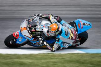 Rabat marca ritmo no warm up matinal da Moto2™