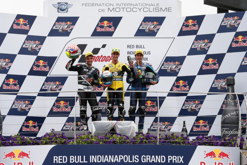 Zarco, Rins, Morbidelli, Ajo Motorsport, Paginas Amarillas HP 40, Italtrans Racing Team, Indy RACE