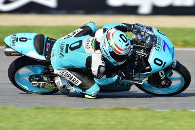 Vazquez sets the pace in morning Moto3™ warm up