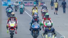 The full Warm Up session for the Moto2™ World Championship at the Indianapolis GP.