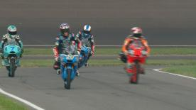 The full Warm Up session for the Moto3™ World Championship at the Indianapolis GP.