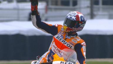 Marquez batte Lorenzo a Indy