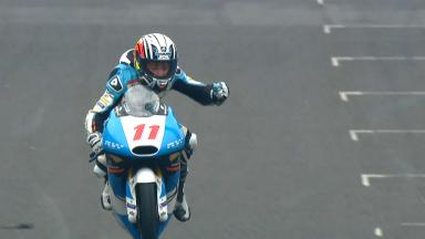 Loi takes maiden Moto3™ victory