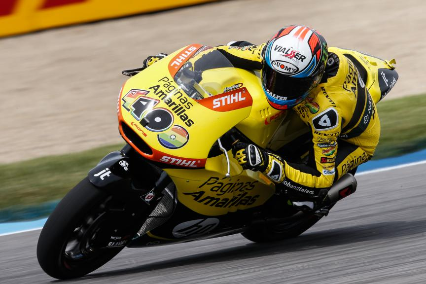 Alex Rins, Paginas Amarillas HP 40, Indy RACE