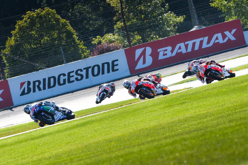 MotoGP Action Indianapolis