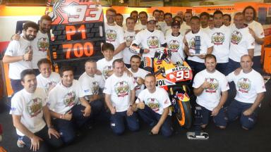 "Marquez: ""I'm proud to have taken Honda's 700th victory!"""