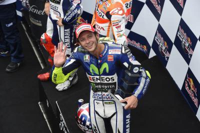 Rossi: «Sufrimos demasiado en los entrenamientos»