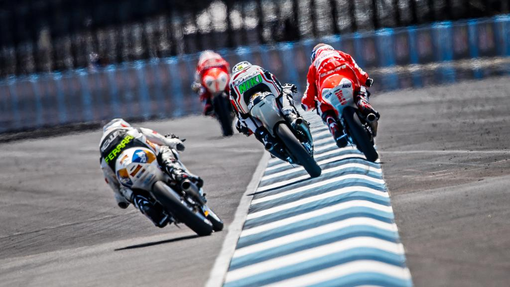 Moto3 Action Indianapolis