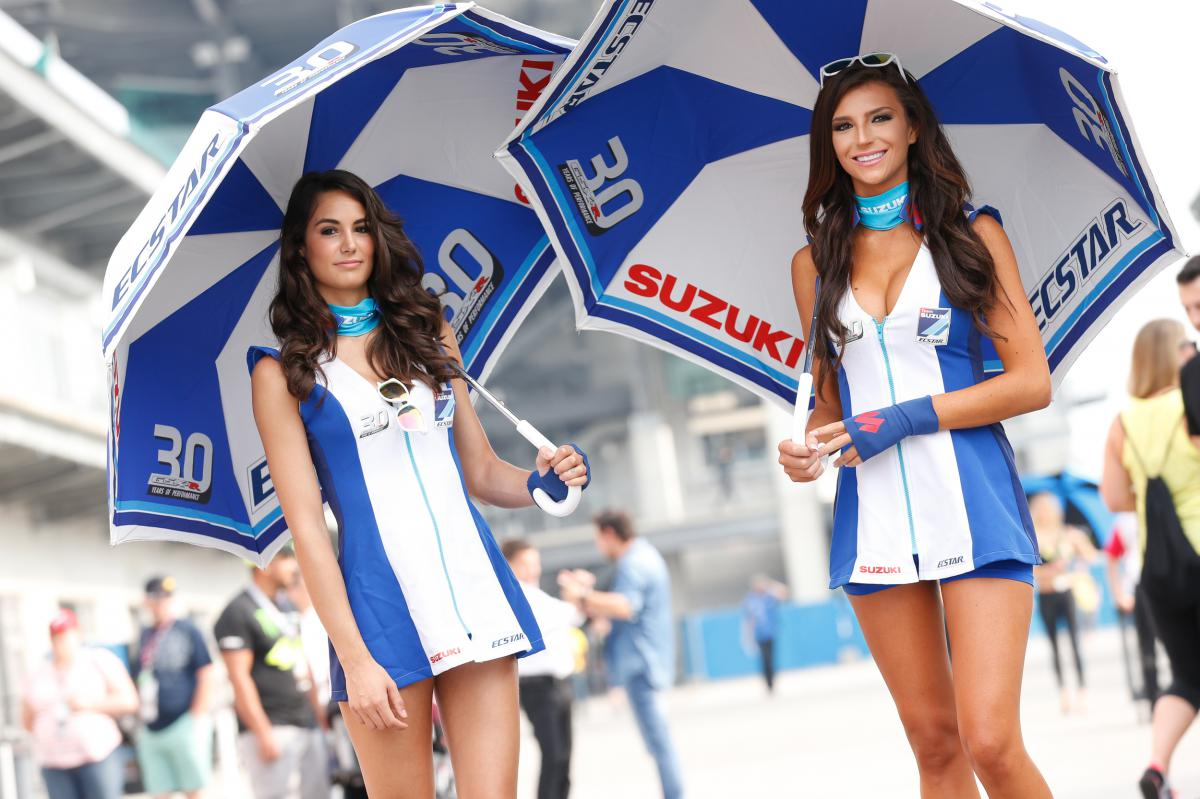 The Paddock Girls of the #IndyGP