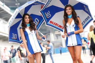 Las chicas del paddock en el #IndyGP