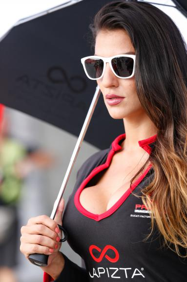 Paddock Girls Red Bull Indianapolis Grand Prix