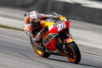 "Pedrosa: ""We had to fight a lot with the bike"""