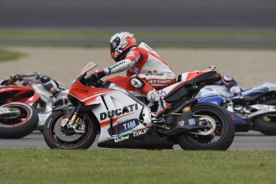 "Dovizioso: ""The wrong place at the wrong time!"""