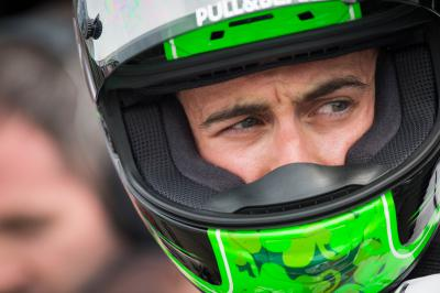"Laverty: ""I had to ride with practically one arm'"