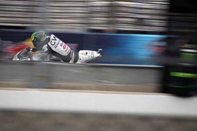 Crutchlow: «Necesitábamos acabar la carrera»