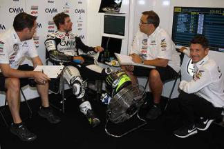"Crutchlow: ""I lost so many places at the second corner"""