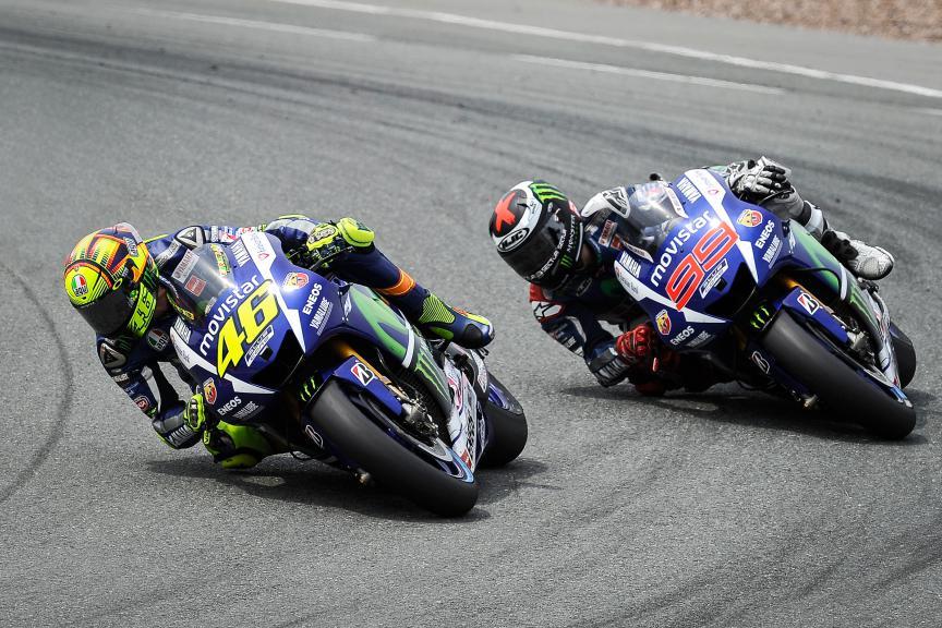 Valentino Rossi, Jorge Lorenzo, Movistar Yamaha MotoGP