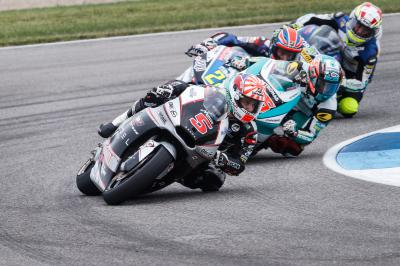 Battle for seconds tightens in Moto2™