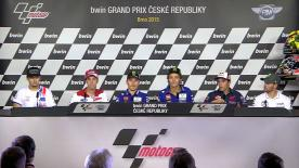 All of the action from the official opening press conference at the bwin Grand Prix České republiky.