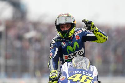 "Rossi: ""I'm feeling positive"""