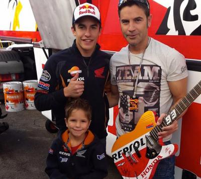 Bid on a Signed Marquez guitar at Day of Champions