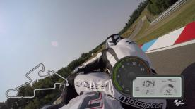 Experience a lap of the Automotodrom Brno with motogp.com's Dylan Gray.