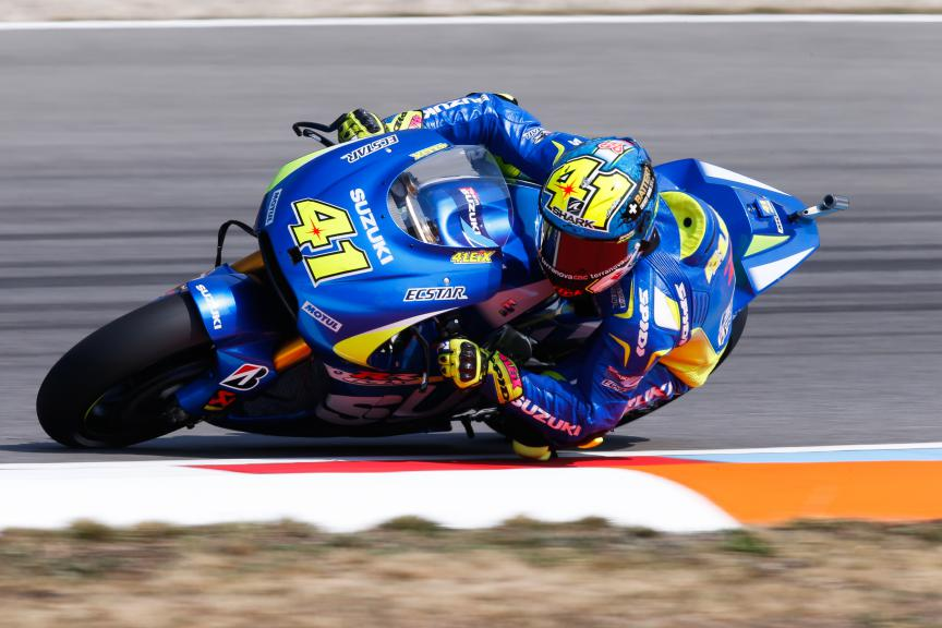 Aleix Espagraro, Team Suzuki Ecstar, Brno FP2
