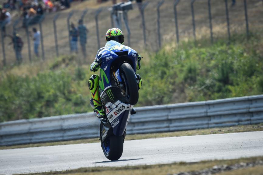 Valentino Rossi, Movistar Yamaha MotoGP, Brno FP2