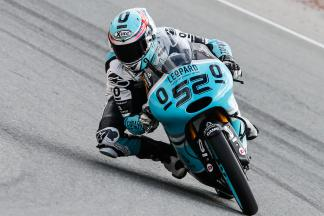 Kent ends Friday's Moto3™ Practice on top