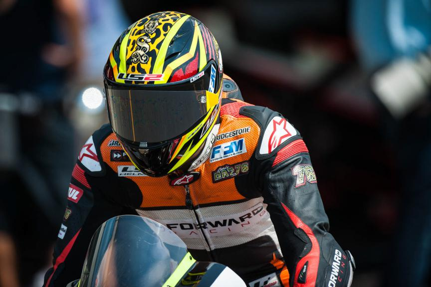 Loris Baz, Forward Racing, Brno FP2 © 2015 Scott Jones, PHOTO.GP