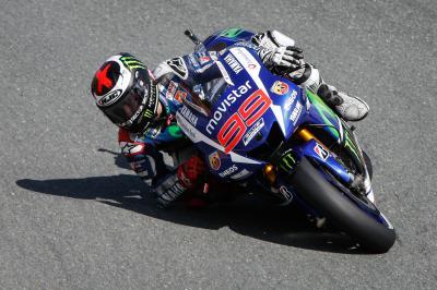 Lorenzo: Eines der schwierigsten Trainings der Saison