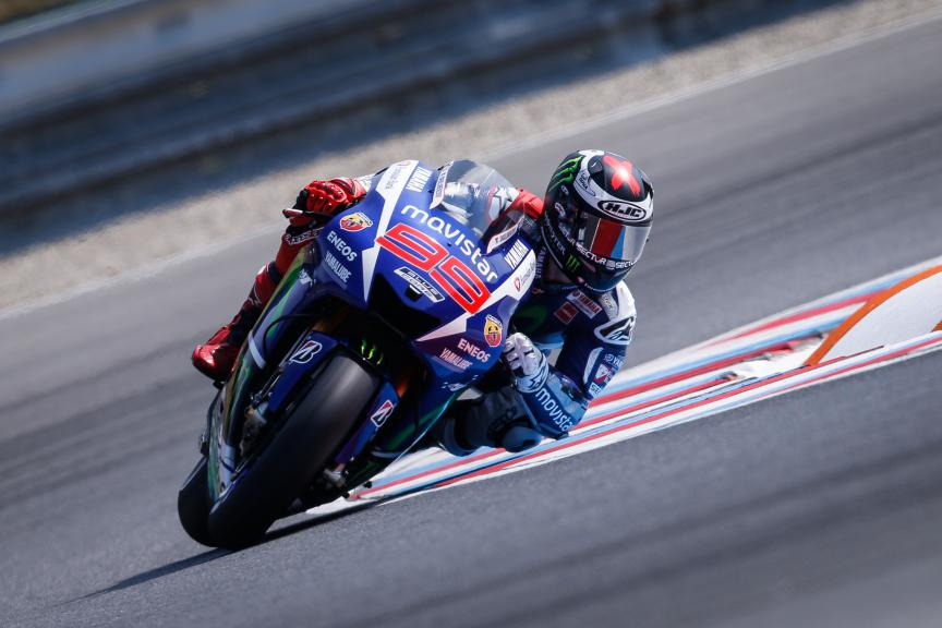 Jorge Lorenzo, Movistar Yamaha MotoGP, Brno FP2
