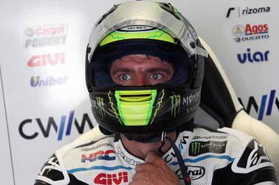 "Crutchlow: ""I was quite pleased with the second session"""