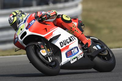 "Iannone: ""The track conditions in FP2 were a lot worse"""