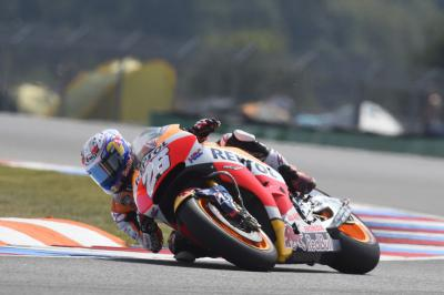 "Pedrosa: ""The bike threw me off quite violently"""