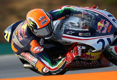Di Giannantonio takes Red Bull Rookies Pole