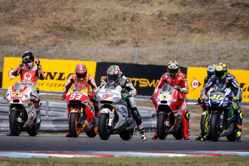 MotoGP Action, Brno Q2