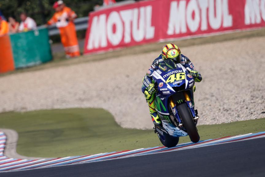 Valentino Rossi, Movistar Yamaha MotoGP, Brno Q2
