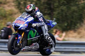 "Lorenzo: ""My pole position lap was very good almost perfect'"