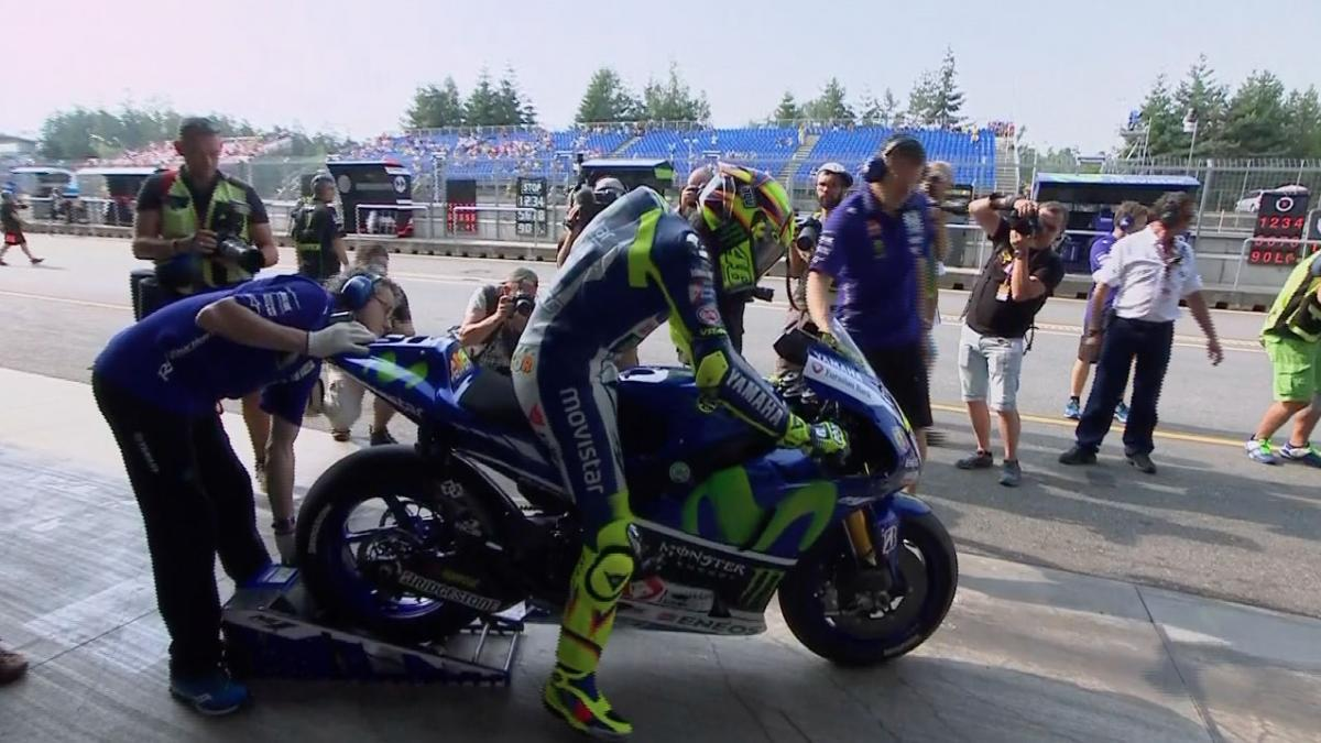 moto gp freies training