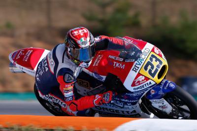 Antonelli holt die Moto3™ Pole in Brünn