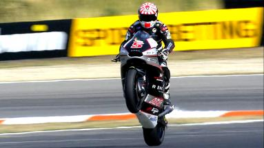 Zarco in pole position a Brno