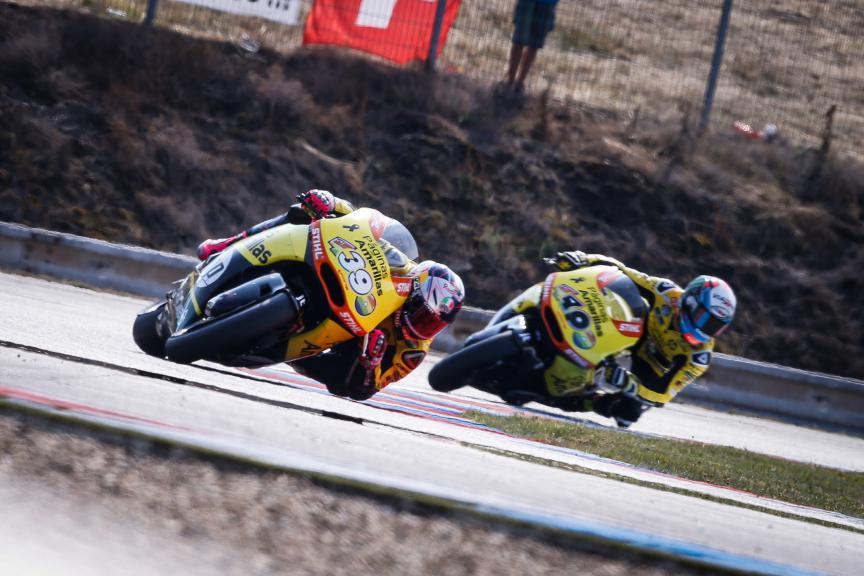 Luis Salom, Alex Rins, Paginas Amarillas HP 40, Brno QP