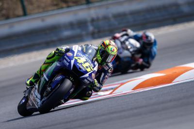 Rossi freut sich über Startreihe eins