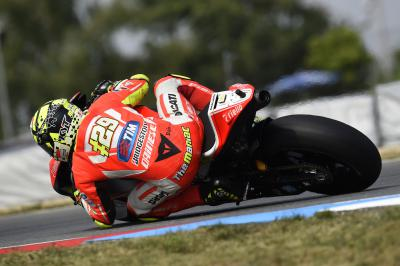 "Iannone: ""A soft rear tyre here did not help us as much"""
